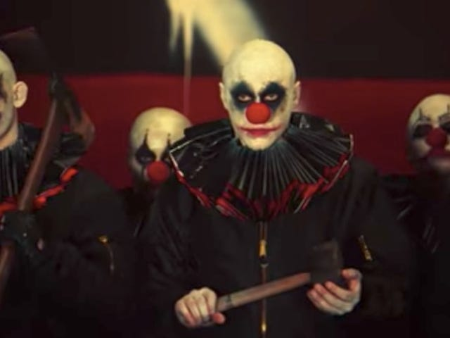 The First Teaser for American Horror Story: Cult Tells Us Nothing, But It Sure Is Full of Creepy-Ass Clowns