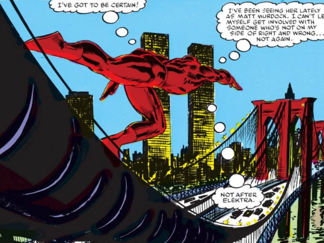 The Painful Poetry of My Favorite Daredevil Comics