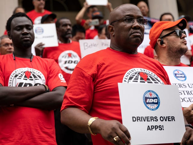 Uber's Suit To Block California's Independent Contractor Law Is A Story Of American Misery