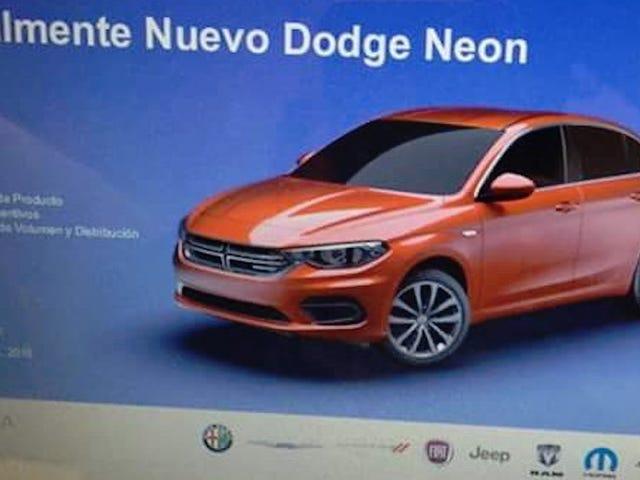 Yeni Bir Dodge Neon Olacak
