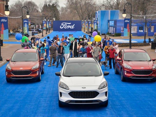 2020 Ford Escape.....