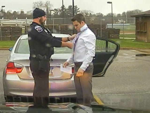 Good Guy Cop Gives A Lesson In Adulting Instead Of A Ticket