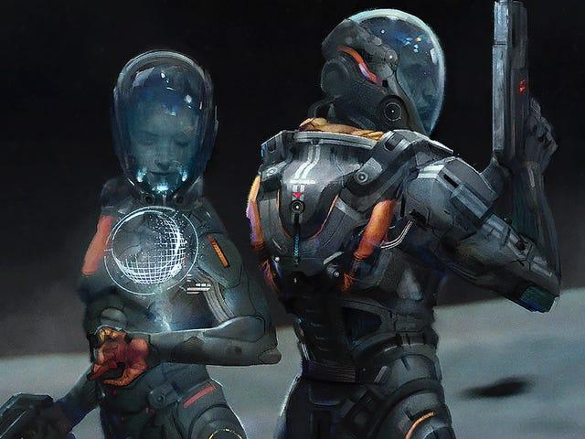 <i>Mass Effect: Andromeda</i>的艺术<i>Mass Effect: Andromeda</i>