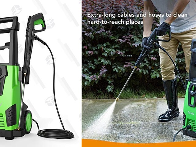 Anker's Popular Pressure Washer Is Down To a New Low Price