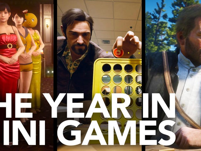 The Year in Mini-Games, 2018