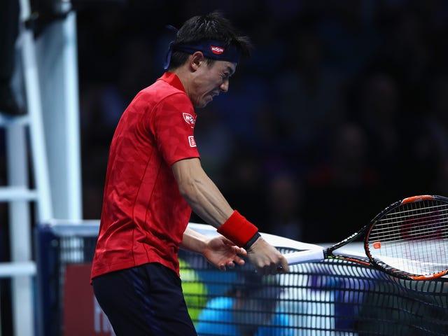 Ο Kei Nishikori είχε όλα τα εργαλεία για να νικήσει τον Andy Murray, αλλά τα χάρισε σε όλο το πάτωμα