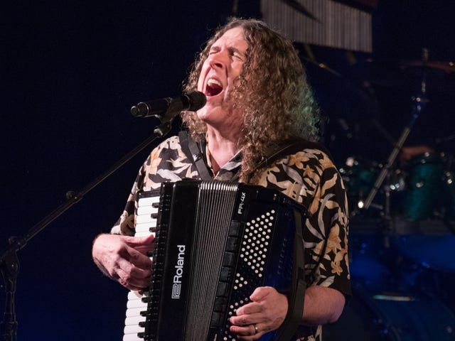 Here's a massive supercut of Weird Al covering everyone from Bowie to They Might Be Giants