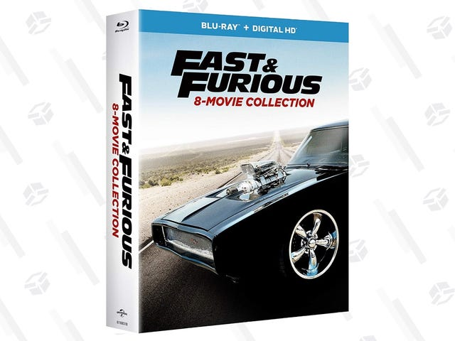 Own All Eight Fast & Furious Movies For $25 On Blu-ray and Digital