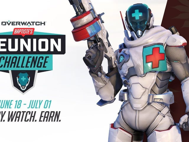 Overwatch just kicked off a new themed challenge event, this one focused on combat medic Baptiste