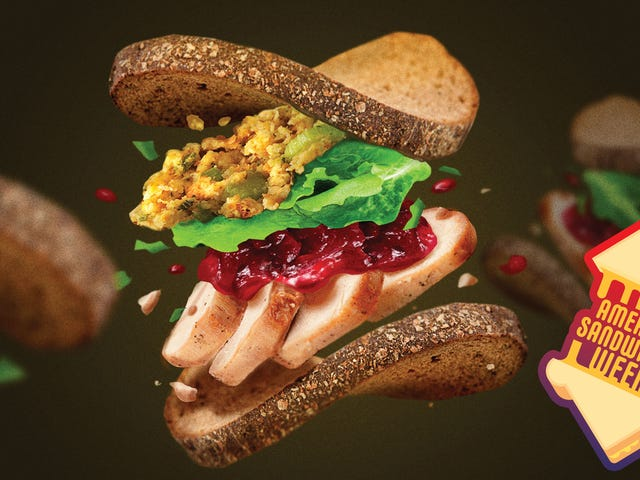 How to construct a superb Thanksgiving leftover sandwich