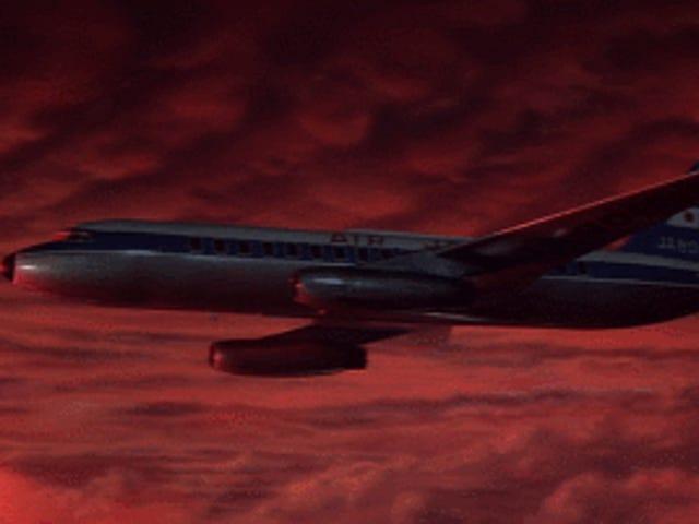私はジェット機に慣れている。 いつまた戻ってくるかわからない