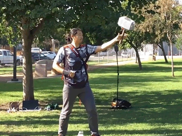 Real-life Thor Builds a Flying Mjolnir Hammer That Returns to Him