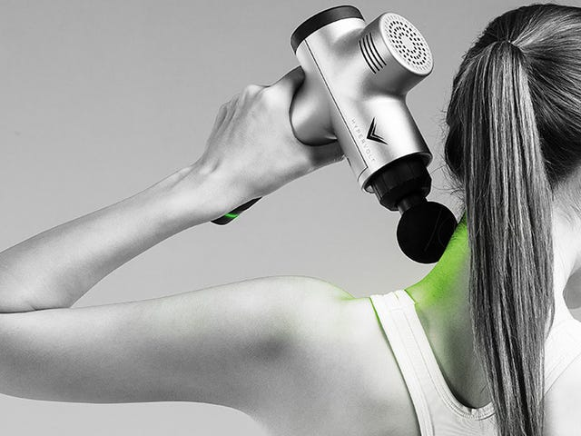 Give Yourself a Massage or Demolish an Old Kitchen with Hypervolt