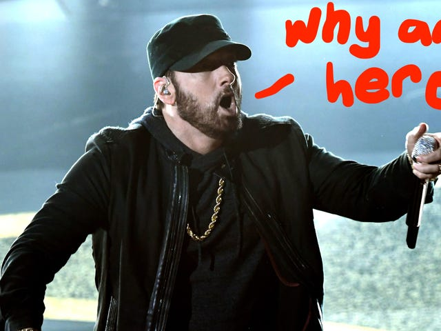 Don't Worry, Eminem Is Also Not Really Sure Why He Was at the Oscars