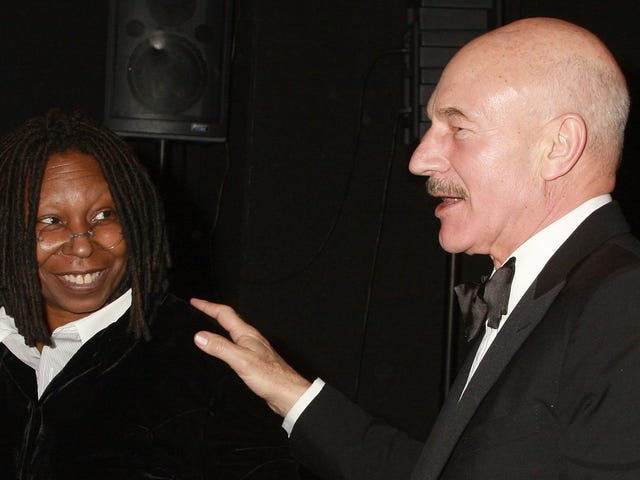 La alegría de Whoopi Goldberg de ser invitado a la segunda temporada de Star Trek: Picard es un espectáculo para la vista