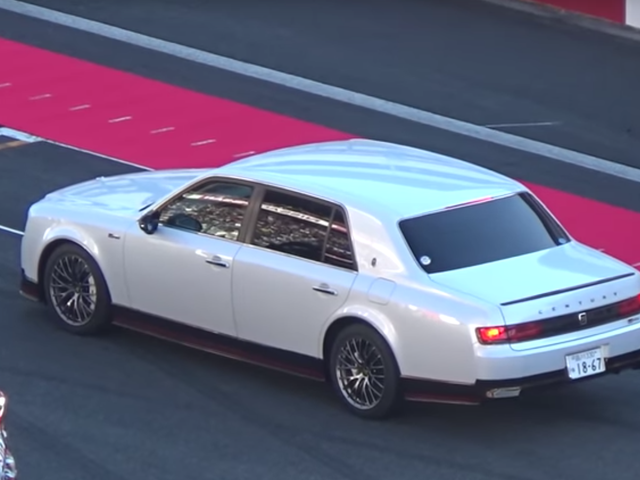 Toyota CEO Shows Up To Track Event In His Awesome Century GRMN, Like A True Boss