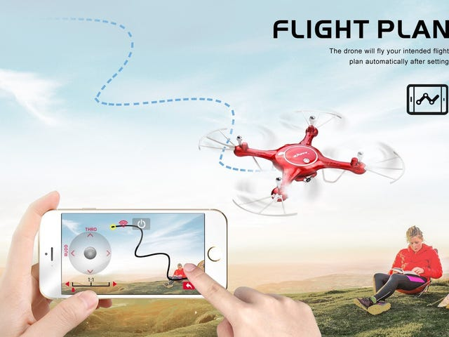 Earn Your Wings With This $38 Camera-Equipped Drone