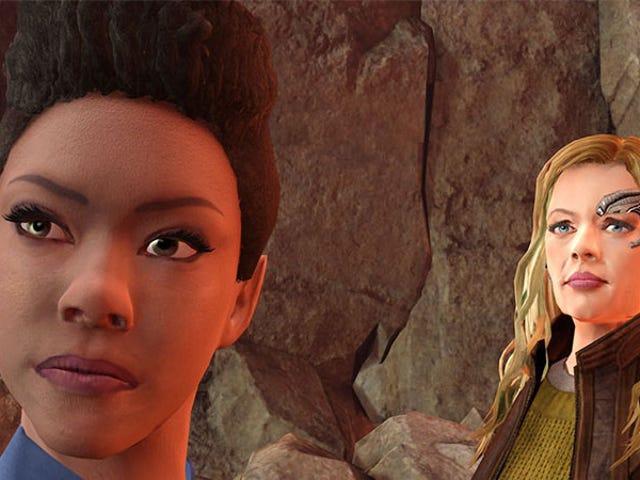 Star Trek's tidigare och nuvarande kolliderar i Star Trek Onlines tioårsjubileum