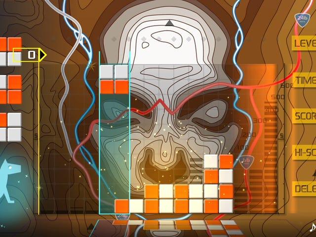Lumines pertenece al panteón de los grandes juegos de rompecabezas de todos los tiempos