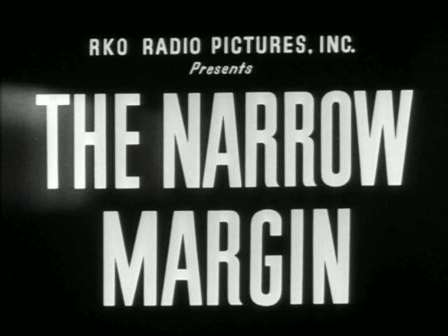 The Narrow Margin (1952) and Narrow Margin (1990)