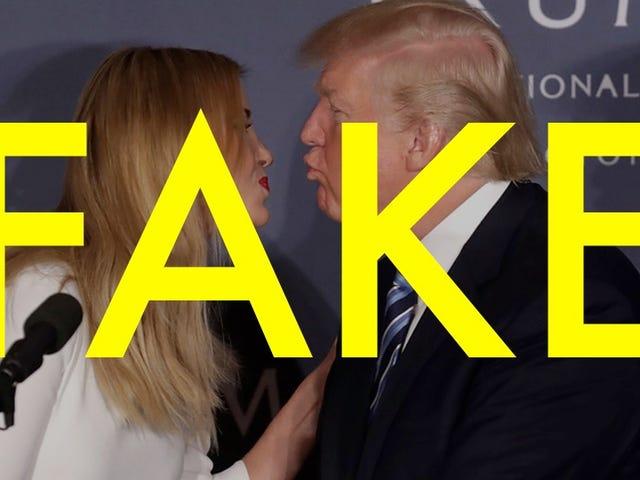 Ivanka Trump đã trích dẫn về việc muốn phun cha cô với Mace là hoàn toàn giả mạo