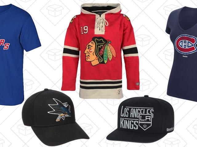 Le jeu de hockey Good Ol 'fait un excellent cadeau avec la vente de matériel LNH d'Amazon
