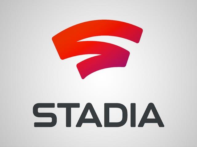 Jeg kunne næppe strømme Stadia Livestream