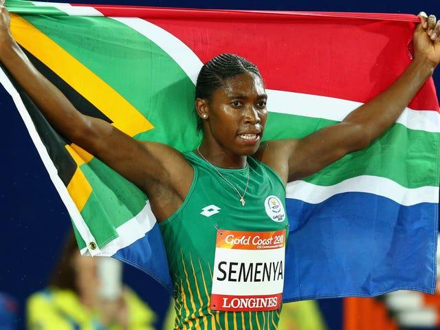 IAAF τώρα επίσημα επιτρεπόμενη να διακριθεί εναντίον Caster Semenya