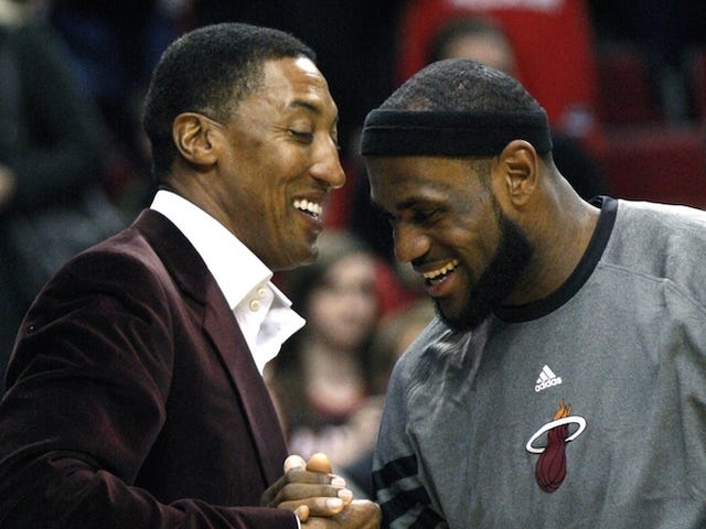 LeBronWatch: Scottie Pippen Can Neither Confirm Nor Deny That LeBron Is Definitely Going To The Lakers