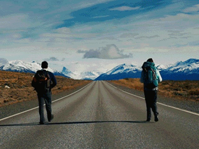Walking on the Roads of Argentina Looks Awesome