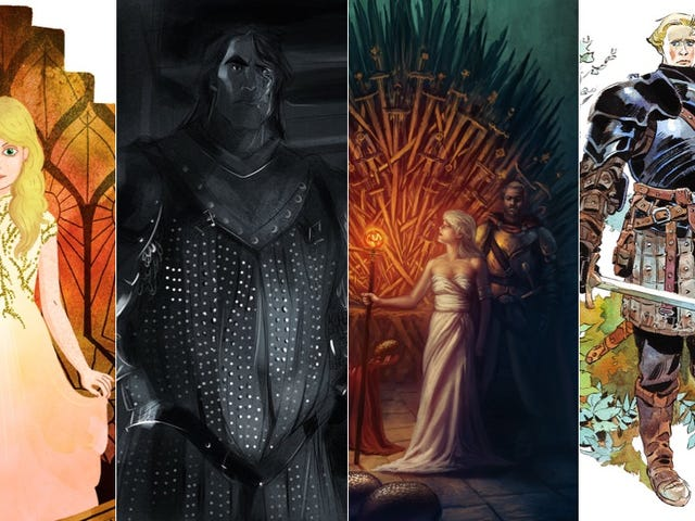 ये फैन आर्टिस्ट Game Of Thrones भी खूबसूरत बनाते हैं