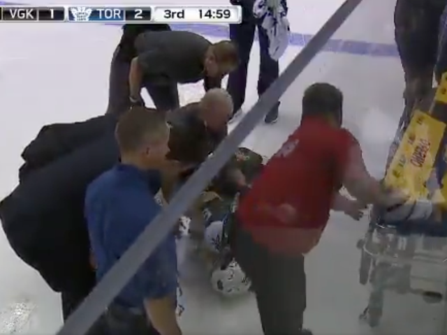 Erik Haula Taken Off Ice On Stretcher After Nasty Knee Injury