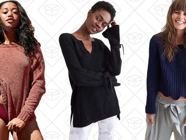 Prepare for The Fall Weather With Aerie's Sweater Sale