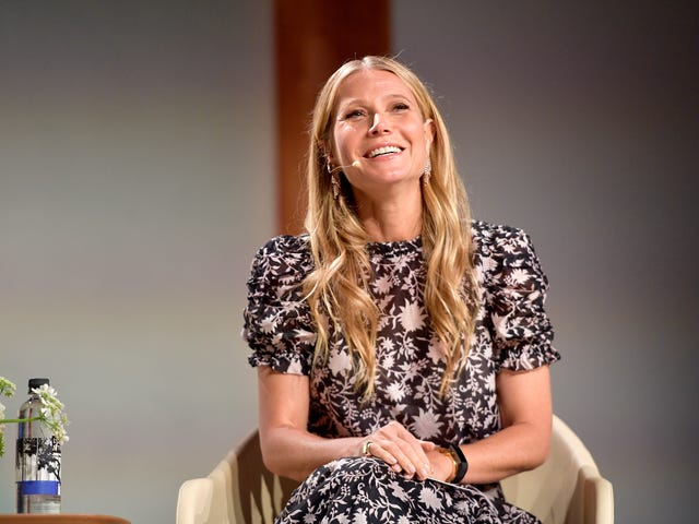 Gwyneth Paltrow Does Her Own Lingerie Shopping