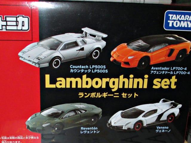 Running of the Bulls: Tomica Lamborghini Set