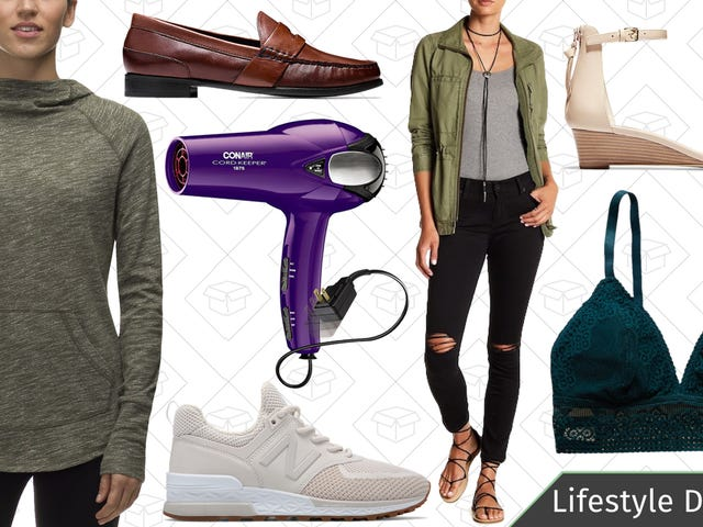 Tuesday's Best Lifestyle Deals: New Balance, Conair, Cole Haan, Backcountry, and More
