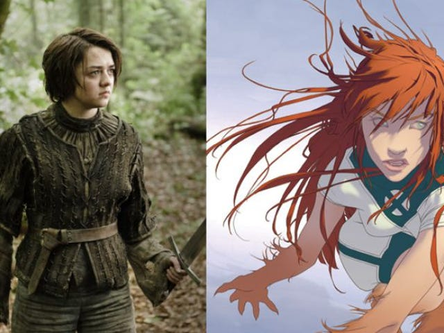 Maisie Williams es Wolfsbane en la escisión de X-Men New Mutants