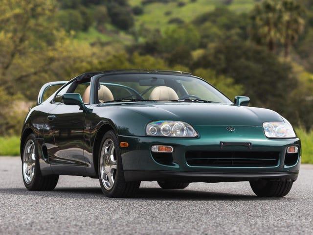 Bare Gud vet hvilken astronomisk pris denne Super Clean 1997 Toyota Supra vil gå på på auksjon