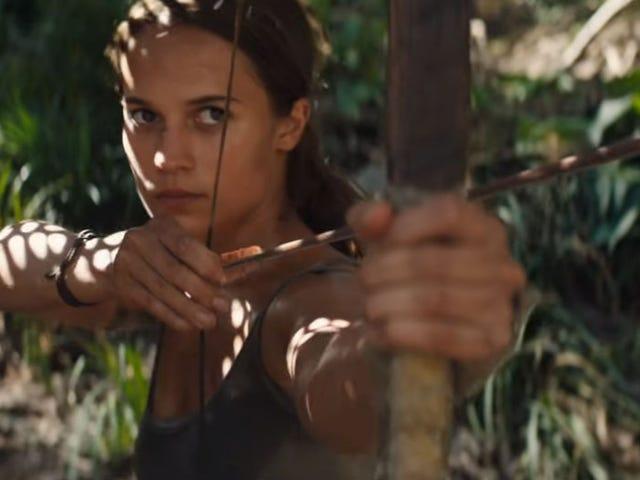 Εδώ είναι το πρώτο τρέιλερ για τη νέα ταινία Tomb Raider