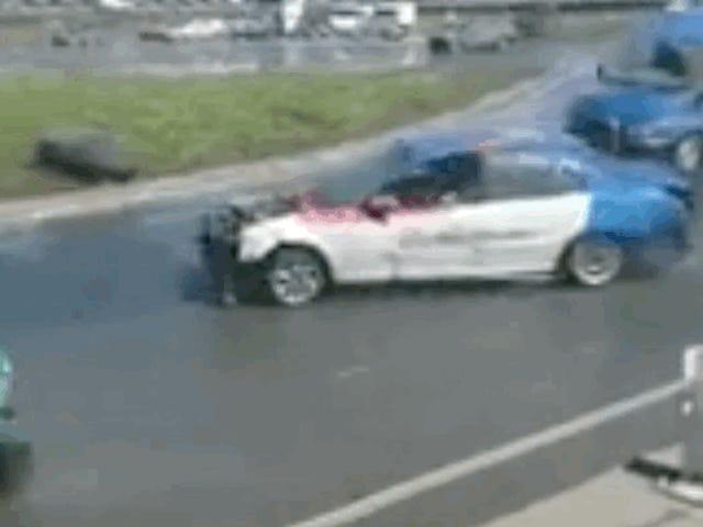 Ting går ikke efter planen for denne Mercedes Sprinter Drift Van