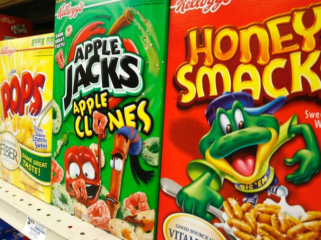 Honey Smacks Cereal Added to the Growing List of Shit That Might Give You Salmonella Poisoning
