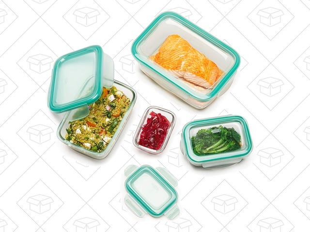 These OXO Glass Leakproof Containers Are Cheaper Than Ever
