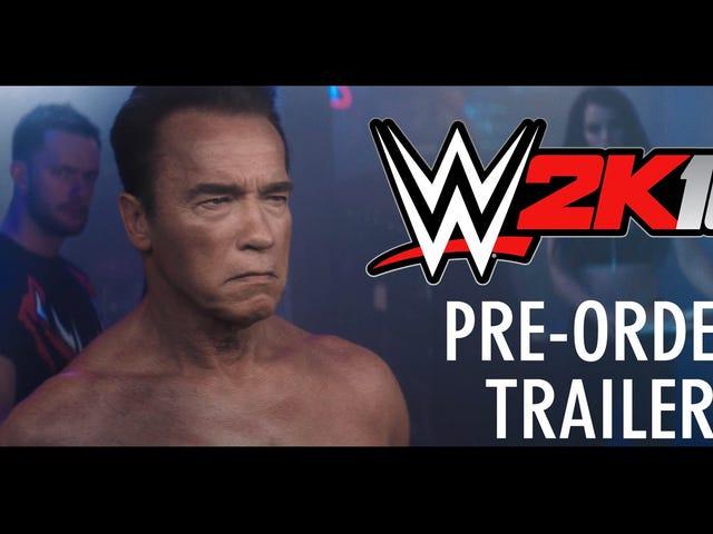 Gli incentivi per il preordine sono piuttosto stupidi e il Terminator è un personaggio preordinato per WWE 2K16 mi