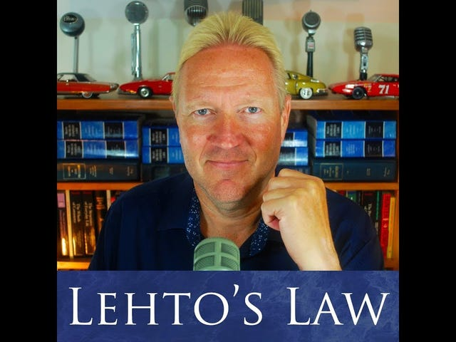 Where Did The Lemon Law Come From? - Lehto's Law Ep. 4.35