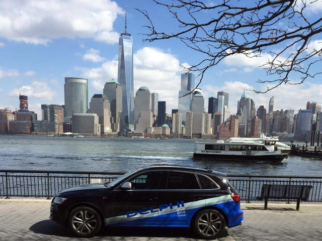 Delphi's Autonomous Audi Made It From San Francisco To New York City