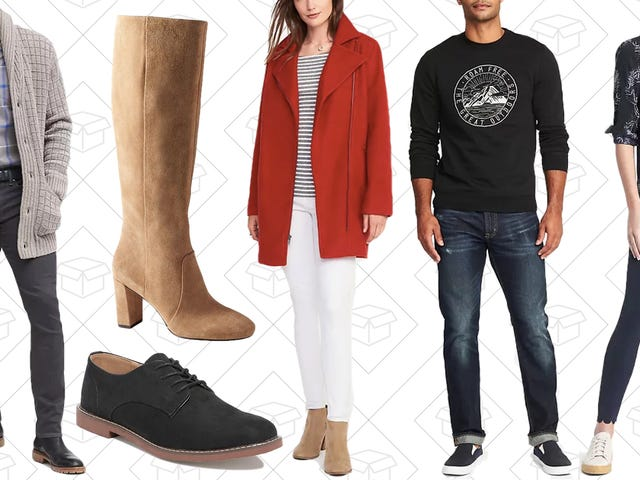 Banana Republic and Old Navy Just Got In On The Early Black Friday Deals With 50% Off