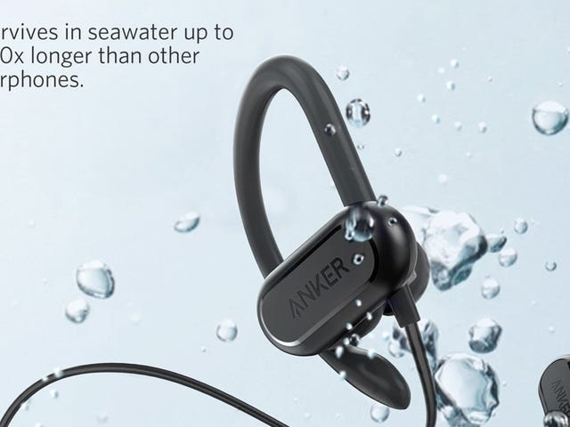 These Anker Bluetooth Headphones Are Designed For Sweating, or Even Swimming
