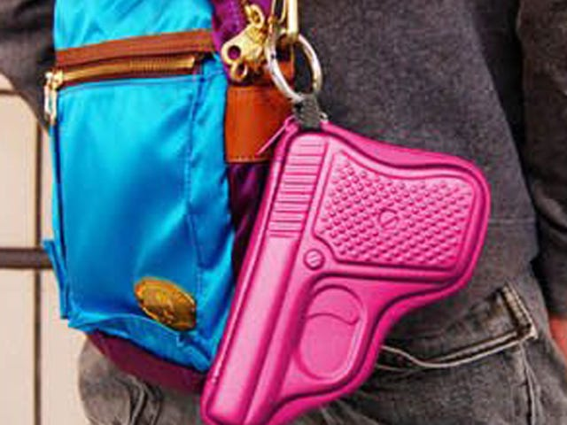 "California Woman Invents ""Gun-Shaped Wallet"" to add Levity to Traffic Stops"