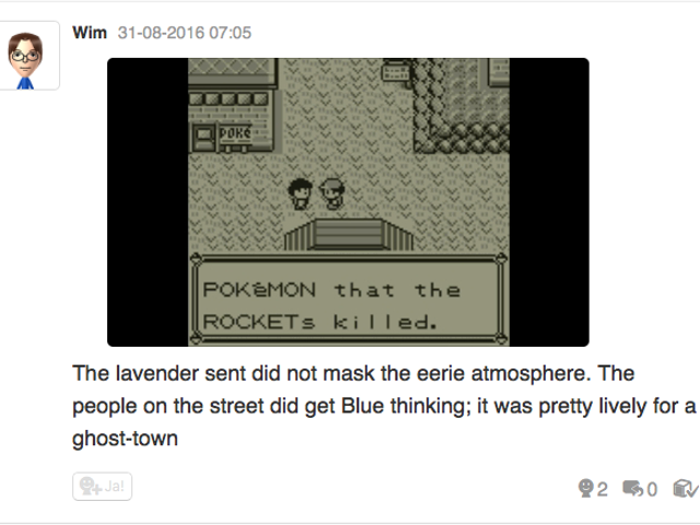 Let's play Pokemon Blue, Miiverse style part 6