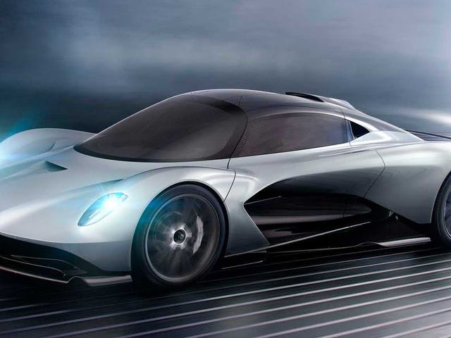 Even Aston Martin's Junior Supercar Is Going to Make 1000 HP: Report